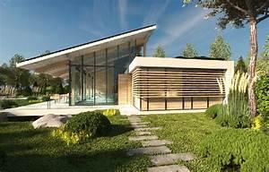 Costruire Una Villa Moderna E Spaziosa Su Un Singolo Piano