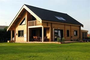 Prix Kit Maison Bois : prix d une maison en bois prix d une extension de maison ~ Premium-room.com Idées de Décoration