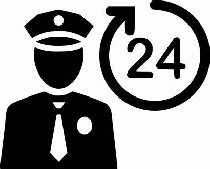 Security Guard Clipart Icon Cop Transparent Protect