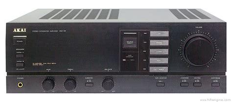 akai   manual stereo integrated amplifier hifi