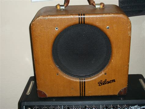 My 1937 Gibson Eh-150 Guitar Amp