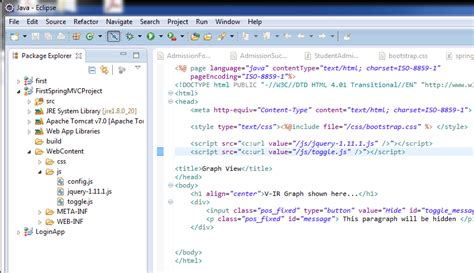 Link Jquery File With Spring Mvc