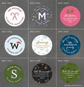 Belletristics stationery design and inspiration for the for Circle mailing labels