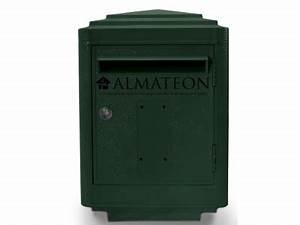 Boite Aux Lettres La Poste : boites aux lettres officielle de la poste vert almateon ~ Melissatoandfro.com Idées de Décoration