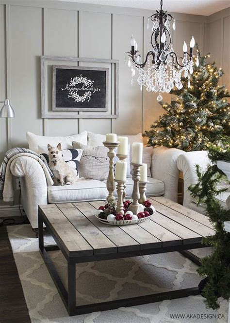 Adorn your tree with reams of classic baubles in a mixture of bronzes and soft golds, staying within a strict color scheme and decoration shape. Most Breathtaking Christmas Living Room Decorating Ideas ...