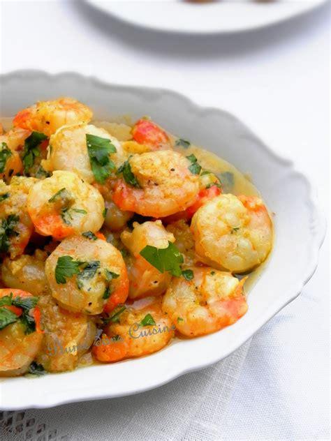 crevettes au four huile d 39 olive ail et persil une