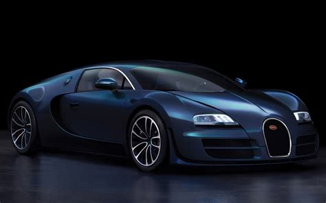 Cool Car by Bugatti Veyron Blue Cool Car Wallpapers