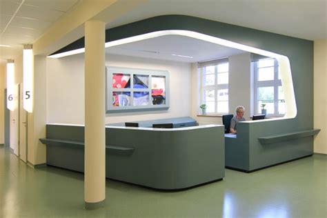 Innenarchitektur Für Arztpraxis Im Krankenhaus Wismar