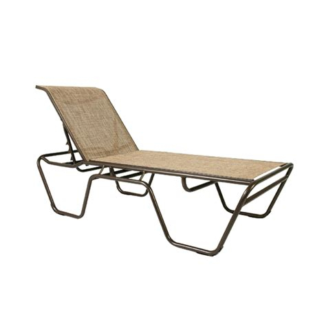sling chaise lounge dde outdoor furniture