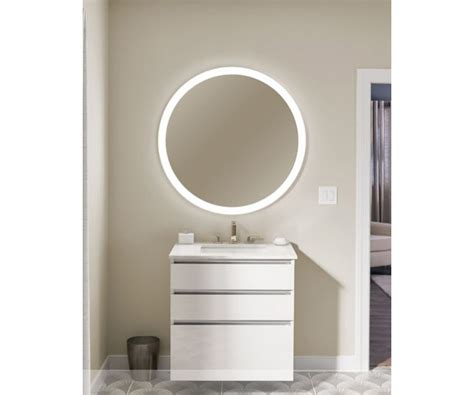 Robern Bathroom Mirrors by Robern Vitality Lighted Mirror Collection Mirrors The