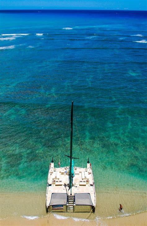 Catamaran Trips In Honolulu by Beaches Waikiki Beach And Hawaii On Pinterest