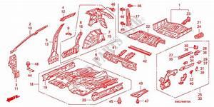 Floor  Inner Panels For Honda Cars Civic 2 2 Es 5 Doors 6