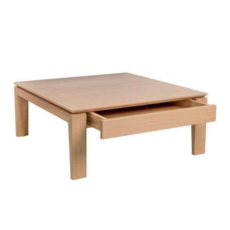 table basse contemporaine table basse contemporaine carr 233 e en bois avec tiroir