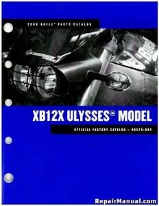 2008 Buell Xb12x Ulysses Motorcycle Parts Manual