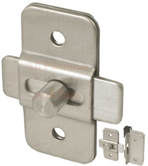 restroom stall door latch stainless steel  bolt