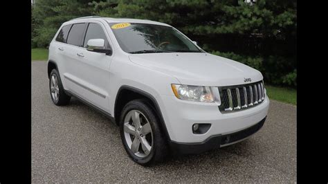 jeep grand cherokee overland  white