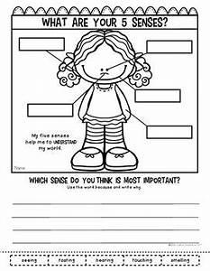 Five Senses Ultimate Pack for Kindergarten & First Grade ...