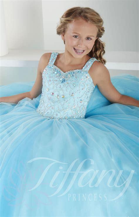 Tiffany Princess 13409 - Ice Princess Dress Prom Dress