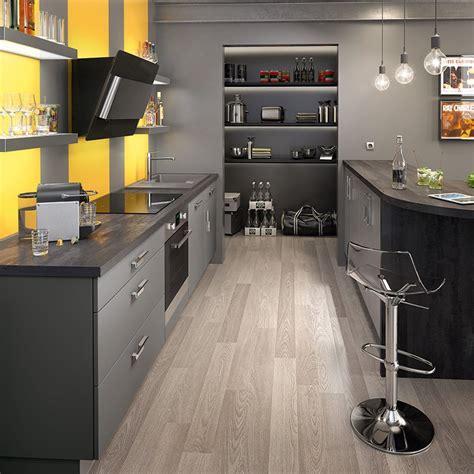 cuisine gris et cuisine grise maison