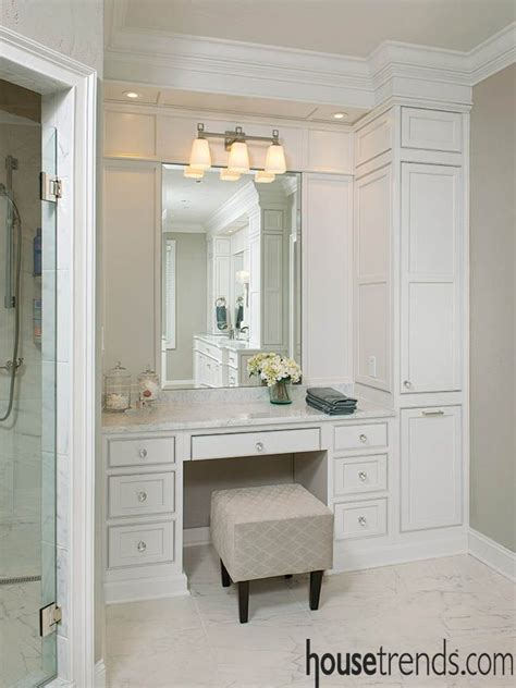 Built In Vanity Cabinets For Bathrooms by Being Vain About Bathroom Vanities In 2019 Attic