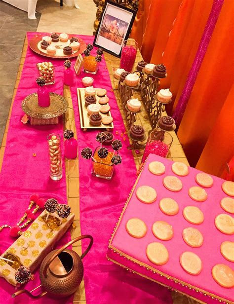 Kara's Party Ideas Royal Bollywood Themed 18th Birthday