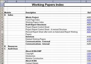 Working Papers Index