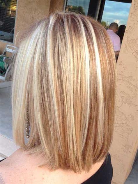 elegant short highlighted hair color ideas short