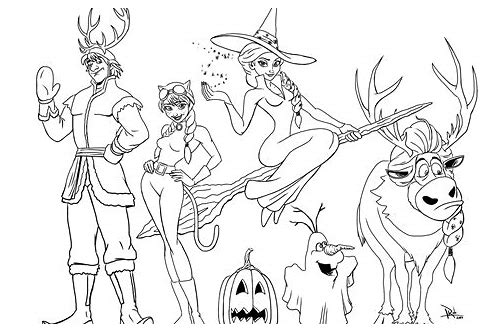 free download halloween coloring pages