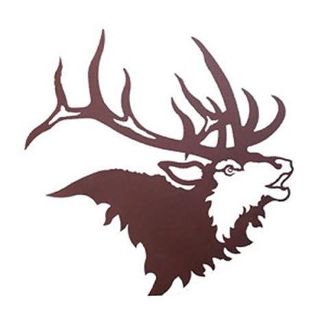 elk head  metal wall art