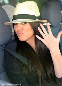khloe wedding ring khloe engagement ring photos global grind