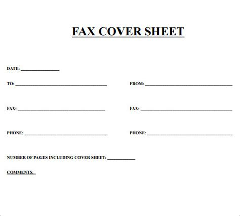 Professional Cover Sheet by Fax Cover Sheet 27 Free Documents In Pdf