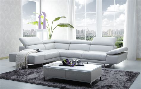 sofas tables and more 1717 italian leather modern sectional sofa