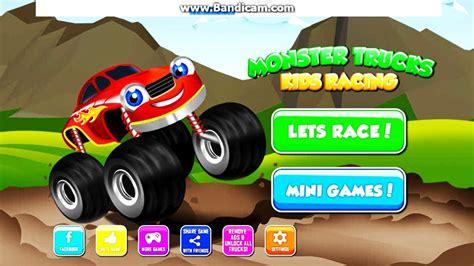 monster truck games videos for kids monster truck games for kids 2 free online monster truck