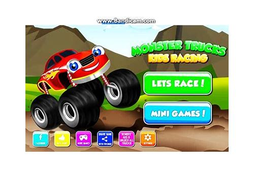 monster truck car game free download