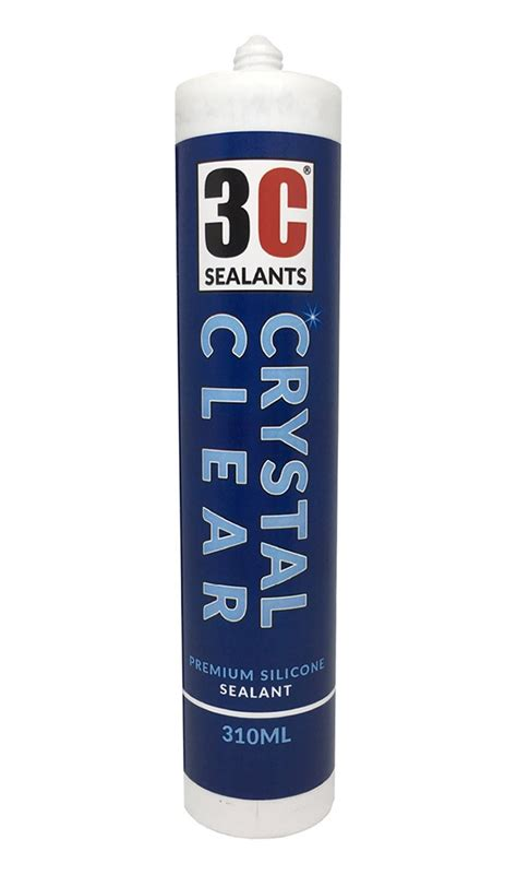 crystal clear silicone sealant county construction