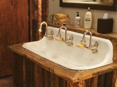 how to distress kitchen cabinets rustic bathrooms ci rustic elegance cast iron sink 7243