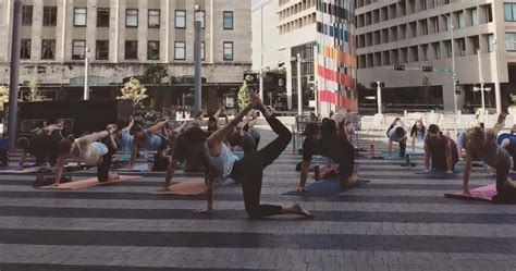 Yoga In Tower Square| Downtown Lincoln, Ne
