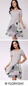 Knielange Kleider Sommer : was denkst du ber diesen blumenstil in 2019 damenmode kleider mode und kleidung ~ A.2002-acura-tl-radio.info Haus und Dekorationen