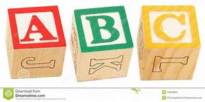 alphabet blocks abc stock photography image 14649962 With individual wooden letter blocks