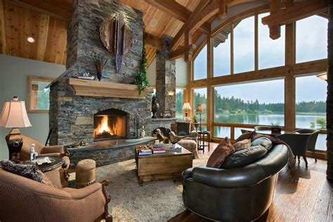 bigfork montanas builder custom home montana splendor
