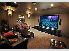 Small Home Theater Room Home Theater Room Ideas Red Color