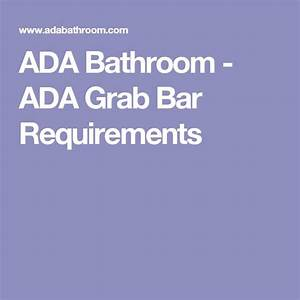 The 25 best ideas about ada bathroom requirements on for Ada requirements for bathroom grab bars