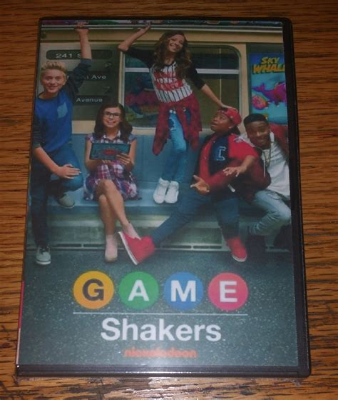 Game Shakers 2015 The Complete Tv Series On Dvd Cree ...
