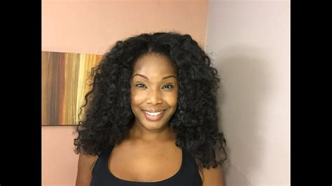 U-part Wig And Knotless Crochet Install Using Cuban Twist