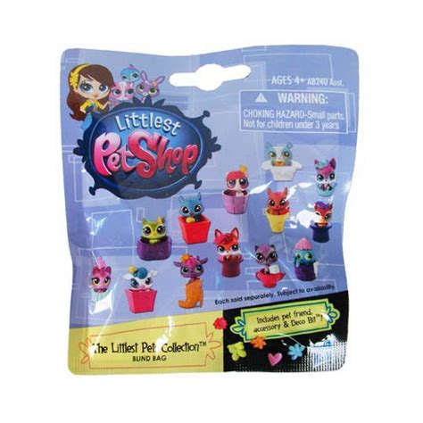 lps blind bags littlest pet shop mystery pets blind bags wave 1 6 pack