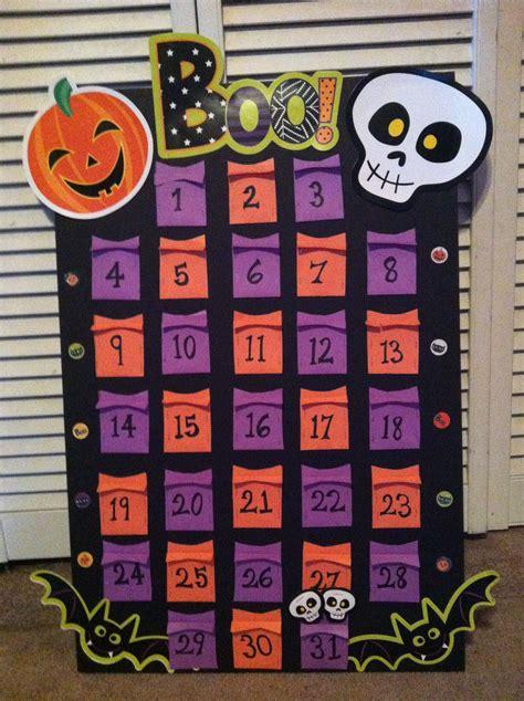 diy halloween countdown calendar diy halloween countdown