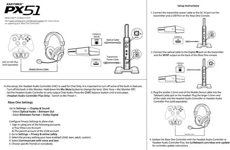 Electrical Wiring Diagram Xbox by Px51 Xbox One Setup Diagram Turtle