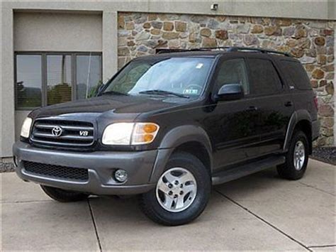 2003 Toyota Sequoia Sr5 V8 by Buy Used 2003 Toyota Sequoia Sr5 4wd V8 Automatic Leather