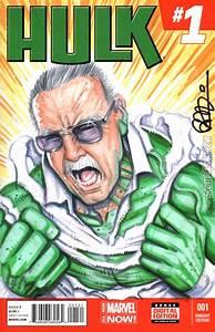 Stan Lee Smash by scottblairart on DeviantArt