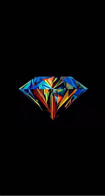 Diamond Iphone Wallpapers Wolf Techno Gem Vector